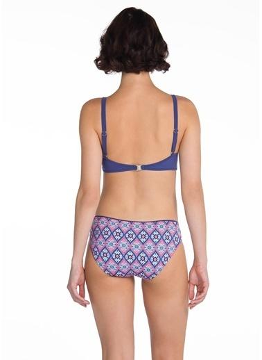 Dagi Luplu Bikini Takım Lacivert